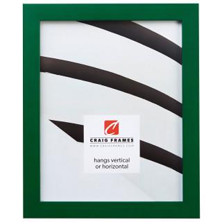 """Confetti .875"""", Green Picture Frame"""