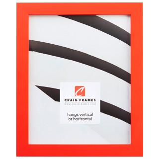 """Confetti .875"""", Orange Picture Frame"""