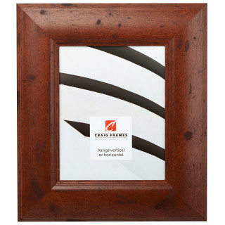 "Dakota 300 3"", Rustic Dark Walnut Picture Frame"