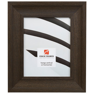 "Driftwood 25 2.5"", Weathered Black Picture Frame"