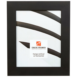 """Fiftynine 1.5"""", Gallery Black Picture Frame"""
