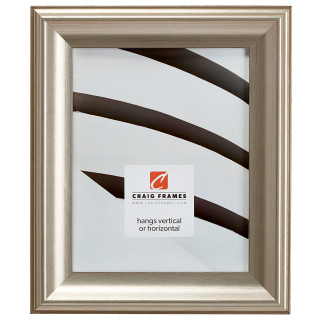 """Fire & Ice 1.875"""", Vintage Silver Picture Frame"""