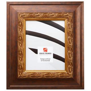 "Gotham 3.5"", Gold & Bronze Picture Frame"