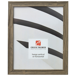 """Hausbarn .75"""", Rustic Wold Gray Picture Frame"""