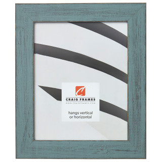 """Jasper 1.5"""", Dixie Gray Weathered Picture Frame"""