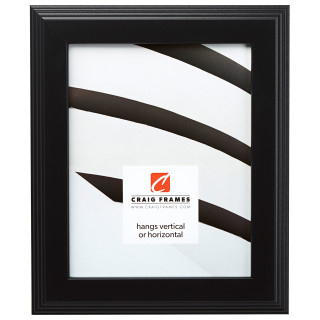 """Mossehaus 1.5"""", Gallery Black Picture Frame"""