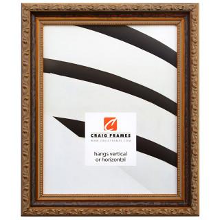 """Regence 1.25"""", Amber & Gold Picture Frame"""