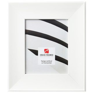 """Roxy 3.25"""", Pearl White Picture Frame"""