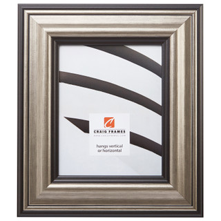 "Sonora 3"", Canyon Silver and Black Picture Frame"