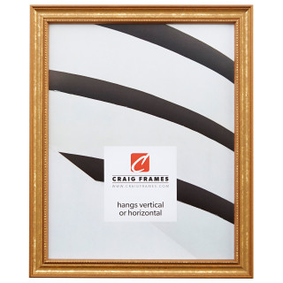 """Stratton .75"""", Aged Gold Picture Frame"""