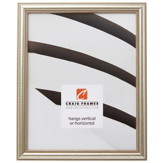 """Stratton .75"""", Aged Pewter Picture Frame"""