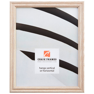 "Wiltshire 200 .75"", Whitewash Picture Frame"