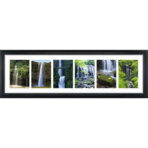 6 Opening 5x7 Panoramic Collage Frame With 1 Mat Craig Frames