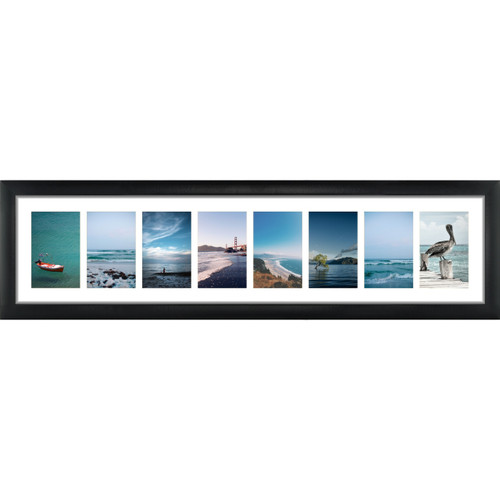 8 Opening 4x6 Panoramic Collage Frame With 1 Mat Craig Frames