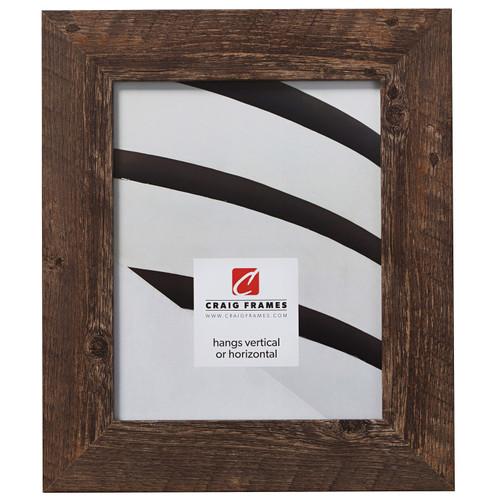 "American Barn 2"", Brown Oak Picture Frame"