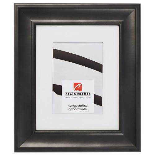"""Martin 2"""", Black Velvet Matted Picture Frame"""