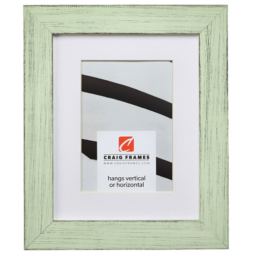 """Jasper 1.5"""", Country Mint Julep Matted Picture Frame"""