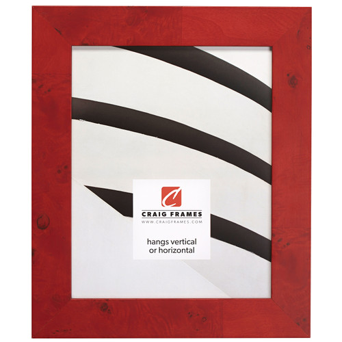 """Innovations 1.5"""", Red Burl Picture Frame"""