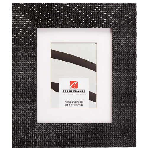 """Glimmer 2.375"""", Matted Black Picture Frame"""