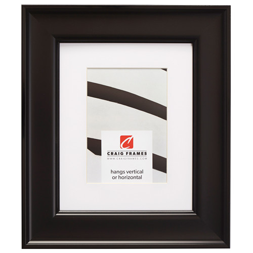 """Resilience 2"""", Matted Black Picture Frame"""