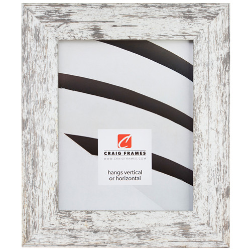 """American Barn 2"""", Alabaster White Picture Frame"""