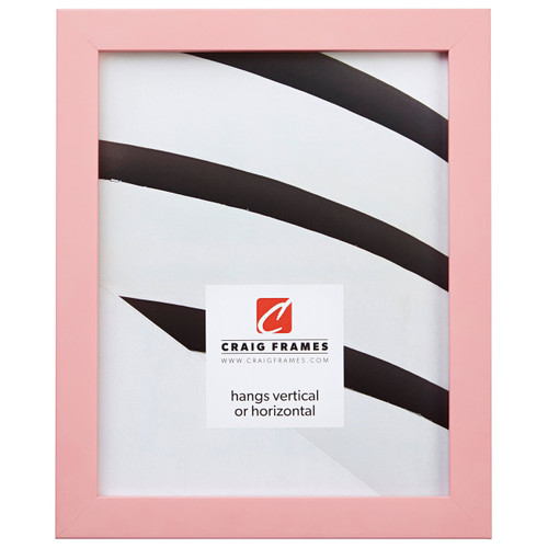 """Confetti .875"""", Light Pink Picture Frame"""
