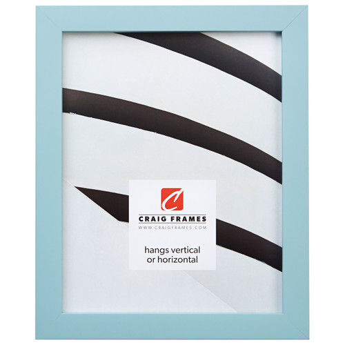 "Confetti .875"", Light Blue Picture Frame"