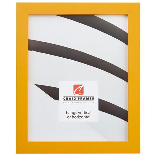 "Confetti .875"", Yellow Picture Frame"