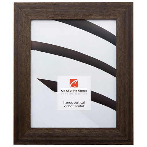 """Driftwood 15 1.5"""", Weathered Black Picture Frame"""
