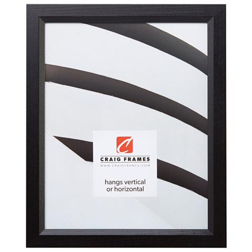 36f7abeec4e Economy Black Simple Hardwood Picture Frame - Craig Frames