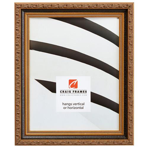 """Regence 1.25"""", Black & Gold Picture Frame"""