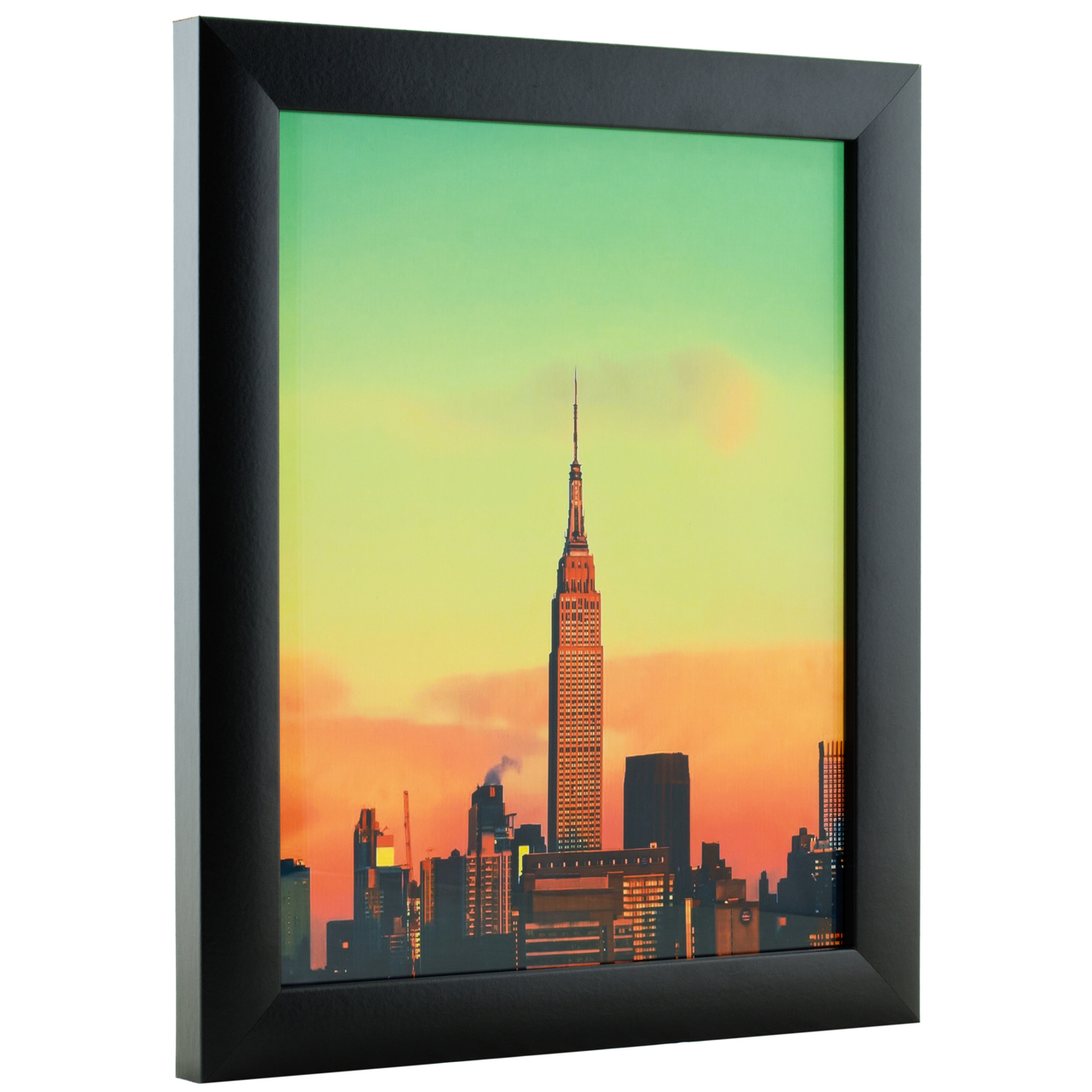14 x 20 Inch Craig Frames Contemporary Picture Frame Black