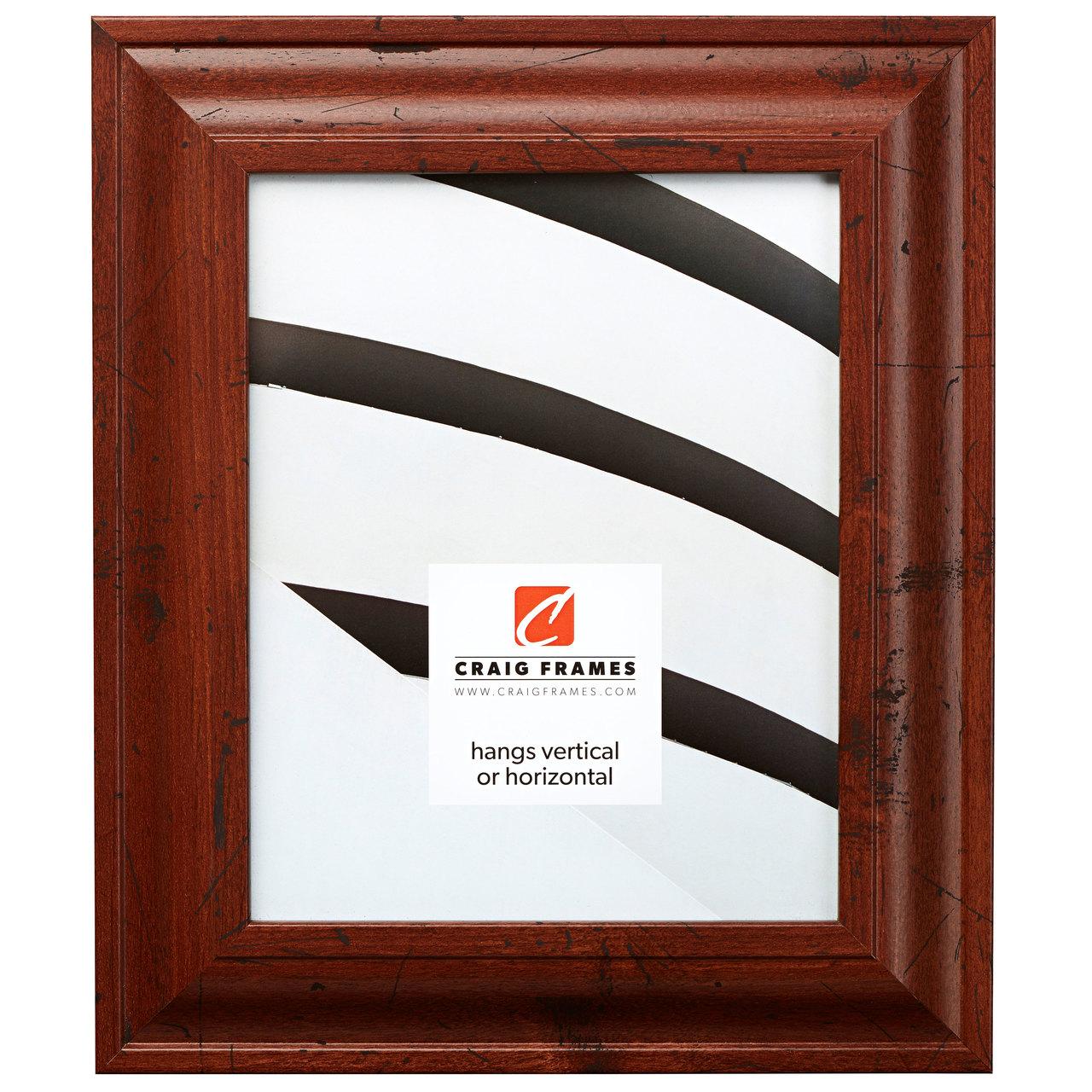 . Upscale 2   Rustic Dark Walnut Picture Frame