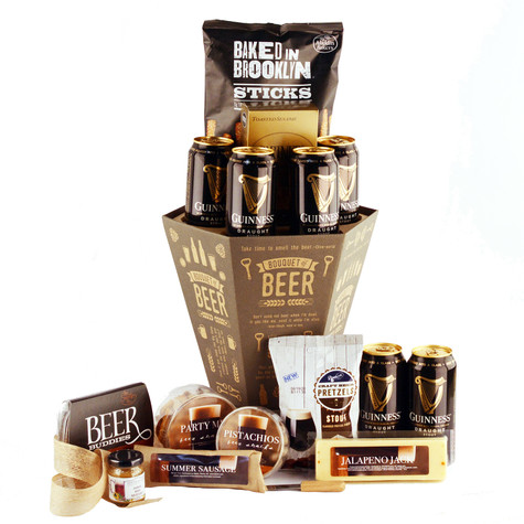 Guinness Beer Party Bouquet of Beer