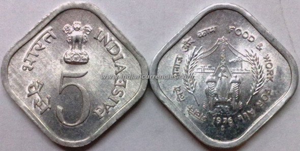 5 Paise of 1976 - Food & Work For All - Mumbai Mint