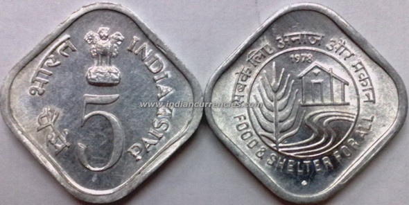 5 Paise of 1978 - Food & Shelter For All - Mumbai Mint