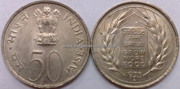 50 Paise of 1973 - Grow More Food - Mumbai Mint