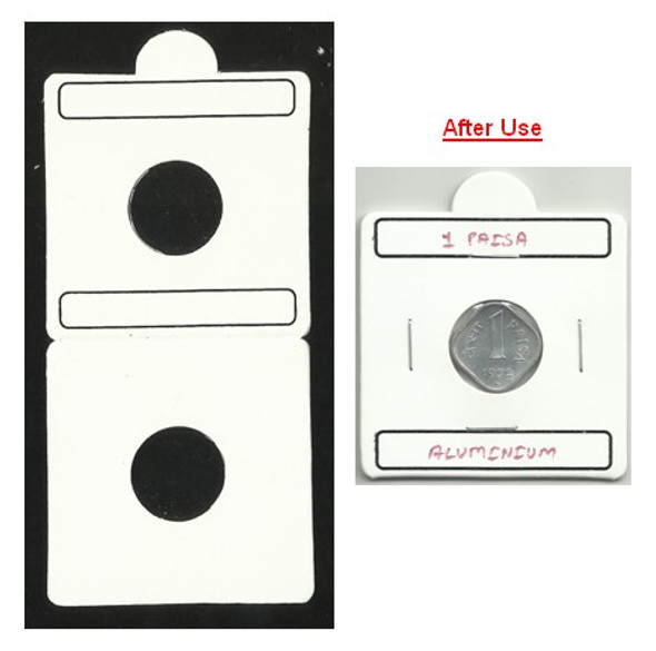 Coin Flip (Coin Holder) - Size 17.5 mm - 50 Pcs (Size No.1)