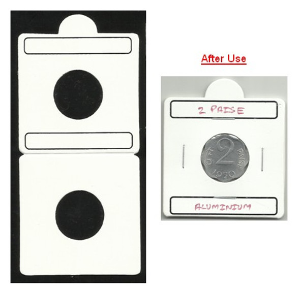 Coin Flip (Coin Holder) - Size 20.00 mm - 50 Pcs (Size No.2)