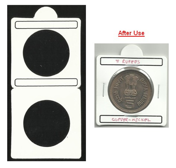 Coin Flip (Coin Holder) - Size 33.00 mm - 50 Pcs (Size No.7)