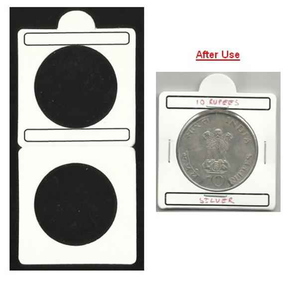 Coin Flip (Coin Holder) - Size 35.00 mm - 50 Pcs (Size No.8)