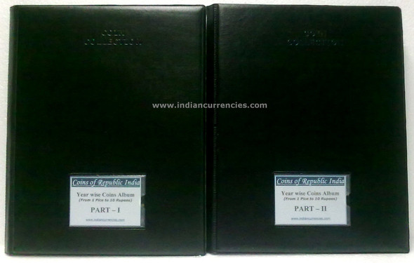 Blank Yearwise Album with names of Regular Republic Coins till 2020