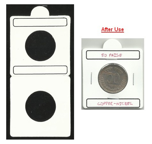 Coin Flip (Coin Holder) - Size 25.00 mm - 50 Pcs (Size No.4)