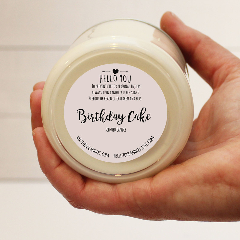 Milestone Birthday Soy Candle Gift - Any AGE