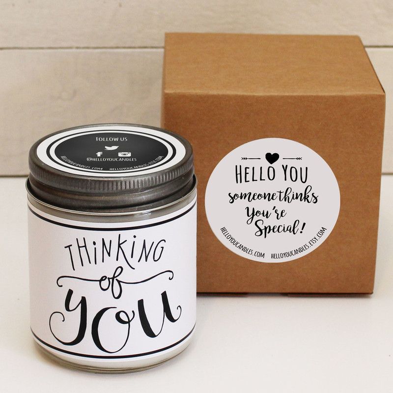Love You More Soy Candle Gift
