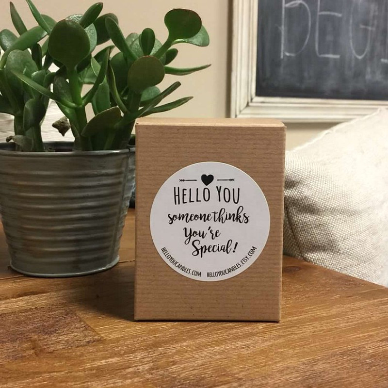 Boxed Candle Gift