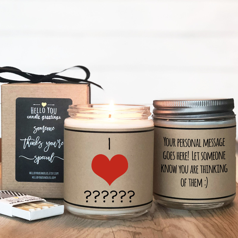 I Heart ANYTHING Candle
