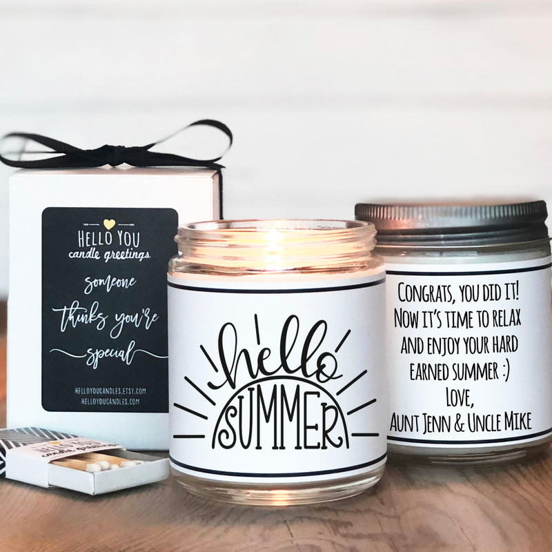 Hello Summer Candle