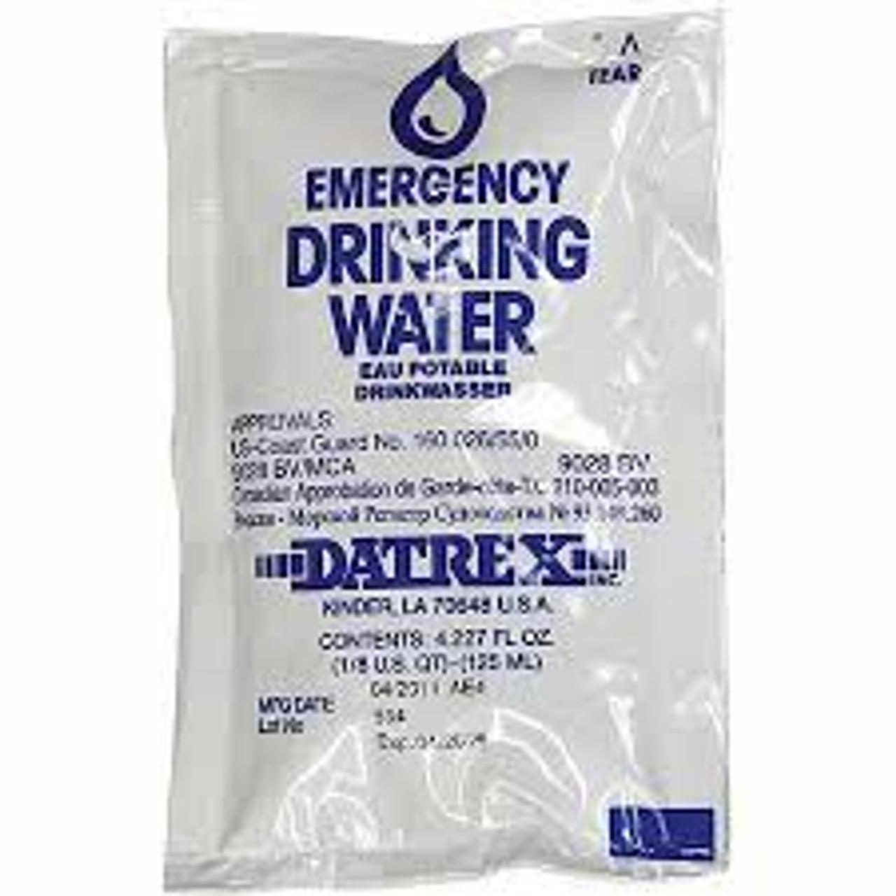 Emergency Survival Water Packs Ctn. of 64 Packs or Individual Paks