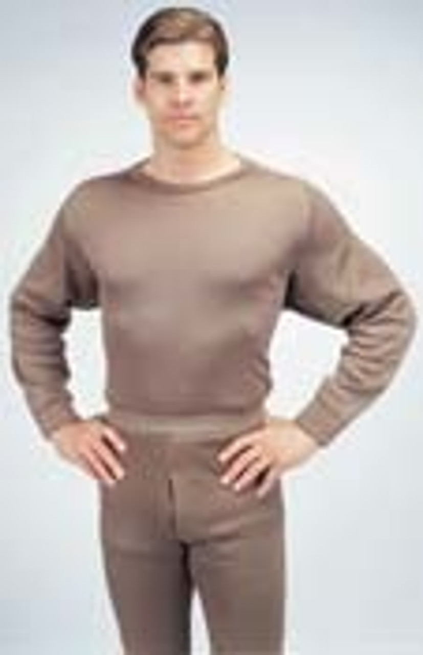 G.I. Extreme Cold Weather Polypropylene Crew Neck Tops-6238